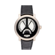 Pierre Kunz White gold Automatic Black 41mm pre-owned