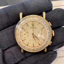 Rolex Chronograph Żółte złoto 36mm Srebrny
