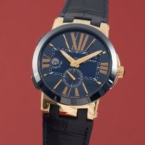 Ulysse Nardin Yellow gold Automatic Blue 43mm new Executive Dual Time