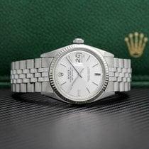 Rolex Datejust Acero 36mm Plata Sin cifras
