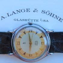 A. Lange & Söhne Steel Manual winding Bronze Arabic numerals 36mm pre-owned