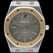 Audemars Piguet Royal Oak Jumbo occasion 39mm Gris Date Or/Acier