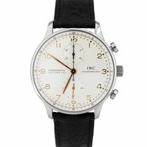 IWC Portuguese Chronograph pre-owned 41mm Chronograph Buckle