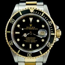 Rolex 16613 Acier 1999 Submariner Date 40mm occasion