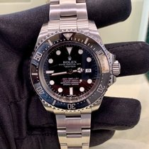 Rolex Sea-Dweller Deepsea Acciaio 44mm Nero Senza numeri Italia, Milano