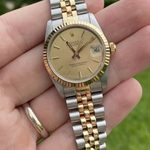 Rolex Lady-Datejust Gold/Steel 31mm Champagne No numerals United States of America, Florida, Boca Raton