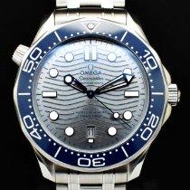 Omega 210.30.42.20.06.001 Acier 2020 Seamaster Diver 300 M 42mm nouveau