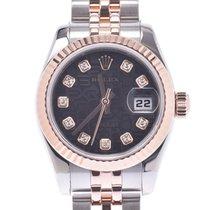 Rolex Lady-Datejust Roségoud 26mm Zwart