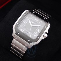 Cartier Santos (submodel) Steel 39.8mm Grey Roman numerals United States of America, New York, New York