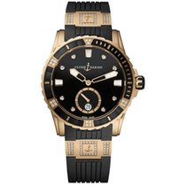 Ulysse Nardin Lady Diver 3202-190-3C/12.12 New Gold/Steel 40mm Automatic