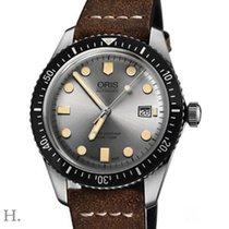 Oris Divers Sixty Five Steel 42mm Silver