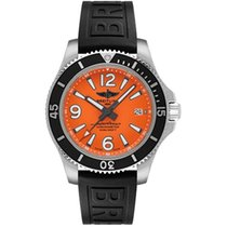 Breitling Steel Automatic Orange 42mm new Superocean 42
