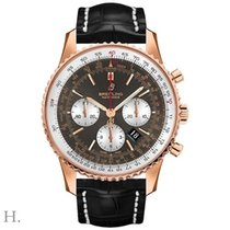 Breitling RB0127121F1P1 Or rose 2020 Navitimer 01 (46 MM) 46mm nouveau