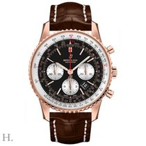 Breitling RB0121211B1P1 Oro rosa 2020 Navitimer 1 B01 Chronograph 43 43mm nuevo