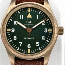 IWC Pilot's Watch Automatic 36 pre-owned 36mm Green Leather