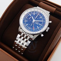 Breitling Navitimer GMT Steel 46mm Blue No numerals United States of America, New York, New York
