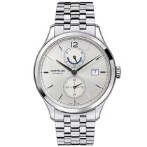 Montblanc Heritage Chronométrie Steel 43mm Silver Arabic numerals United States of America, New York, Greenvale