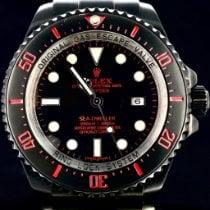 Rolex Sea-Dweller Deepsea Acier 44mm Noir Sans chiffres Belgique, Antwerpen