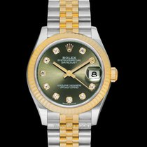 Rolex Lady-Datejust Steel 31mm Green United States of America, California, Burlingame