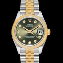 Rolex Lady-Datejust Steel 31mm Green United States of America, California, Burlingame