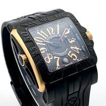 Franck Muller Conquistador GPG 10800 SC DT GPG Very good Gold/Steel 46mm Automatic