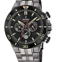Festina Steel 44mm Quartz F20453/1 new