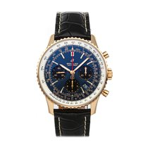 Breitling Navitimer 1 B01 Chronograph 43 Rose gold 43mm Blue No numerals United States of America, Pennsylvania, Bala Cynwyd