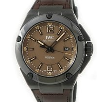 IWC Automatic Black pre-owned Ingenieur AMG