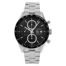 TAG Heuer Carrera Calibre 16 Steel 41mm Black No numerals United States of America, Florida, Surfside