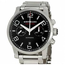 Montblanc Timewalker Steel 43mm Black Arabic numerals