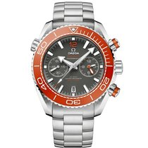 Omega Seamaster Planet Ocean Chronograph Steel 46mm Grey United States of America, New York, New York