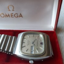 Omega Constellation Quartz Steel 37mm Silver No numerals