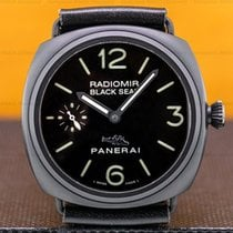 Panerai Radiomir Black Seal 45mm Negro Arábigos