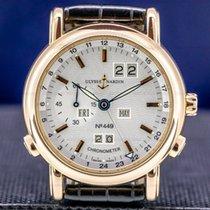 Ulysse Nardin GMT +/- Perpetual Rose gold 40mm Silver Arabic numerals United States of America, Massachusetts, Boston