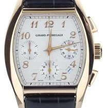 Girard Perregaux Richeville Rose gold 37mm White United States of America, Illinois, BUFFALO GROVE