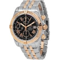 Breitling Chronomat Evolution Steel 43mm Black Roman numerals United States of America, New York, Hartsdale