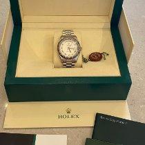 Rolex Day-Date II Weißgold 41mm Braun
