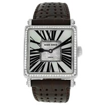 Roger Dubuis pre-owned Automatic 34mm Mother of pearl Sapphire crystal