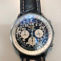 Breitling Navitimer Cosmonaute Сталь 41.5mm Черный Aрабские