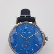 NOMOS Ahoi Datum Stahl 40.3mm Blau Arabisch