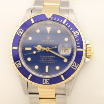 Rolex Submariner Date Or/Acier 40mm Or