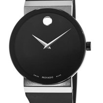 Movado Sapphire Synergy Staal