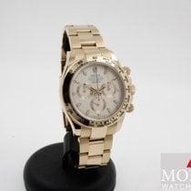 Rolex Daytona Rose gold 40mm White No numerals