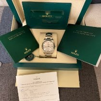 Rolex Oyster Perpetual 34 Acero Plata