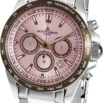 Jacques Lemans Sport Liverpool Steel 41mm Pink