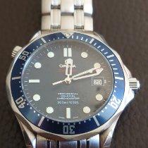 Omega Seamaster Diver 300 M Zeljezo Plav-modar Bez brojeva
