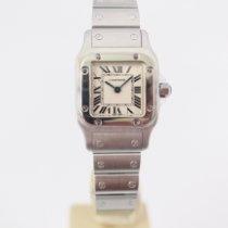 Cartier Santos Galbée Steel 24mm White Roman numerals United Kingdom, London