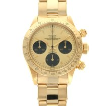 Rolex Yellow gold Manual winding Gold 37.5mm pre-owned Daytona