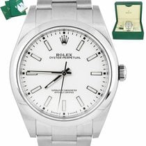 Rolex Oyster Perpetual 39 Steel 39mm White United States of America, New York, Smithtown