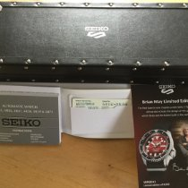 Seiko 5 Sports Acier 42.5mm Rouge Sans chiffres